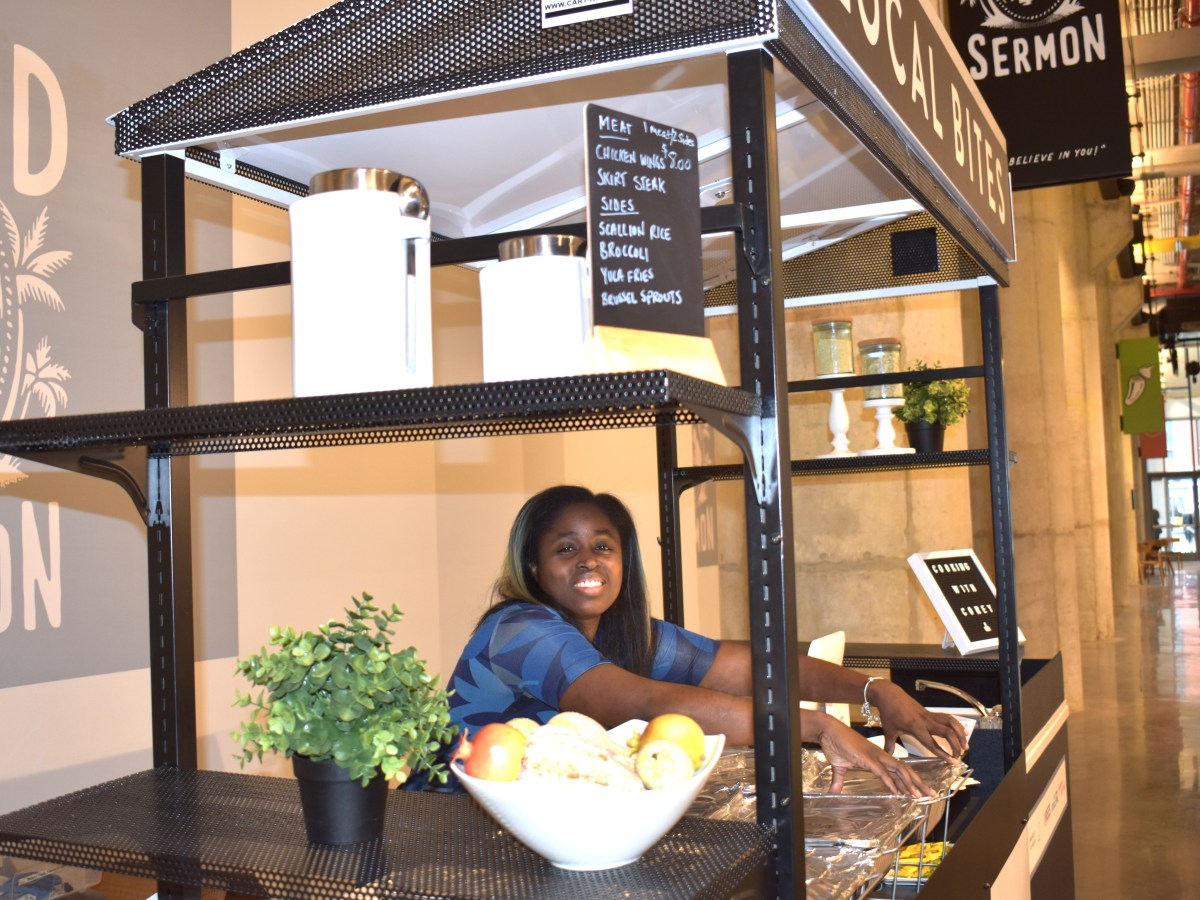NYCHA residents can participate in a 12-week entrepeneurial course and launch their food business with BNY's kiosk program.