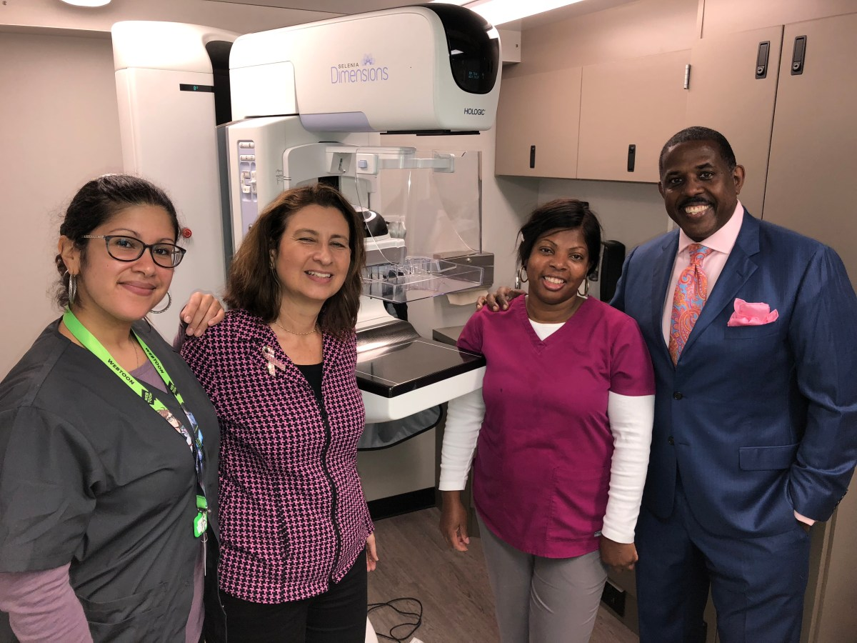 """Senator Parker hosted """"Free Mammography Clinics,"""" a series of free breast cancer screenings across East and Central Brooklyn."""