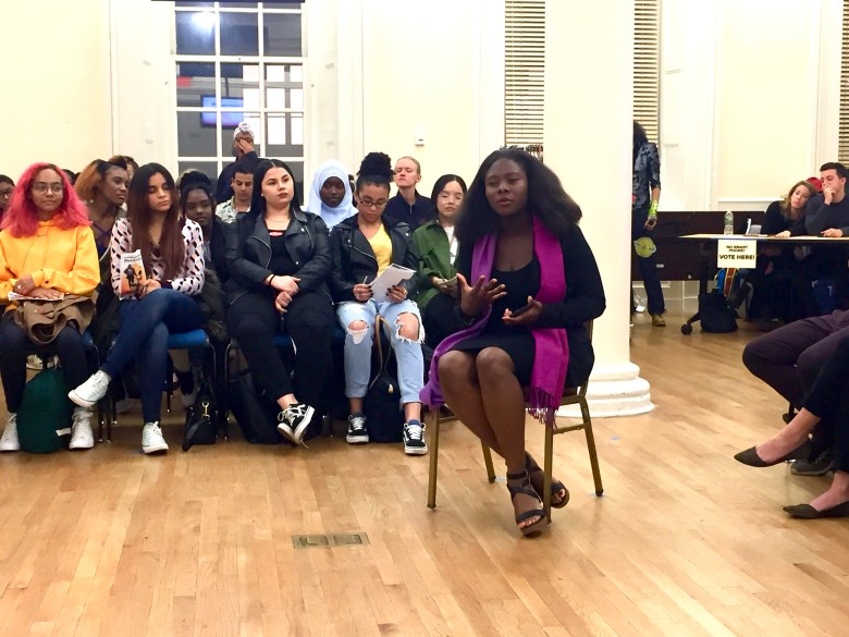 Theatre of the Oppressed NYC uses performance and play to address discrimination, create change and build community.