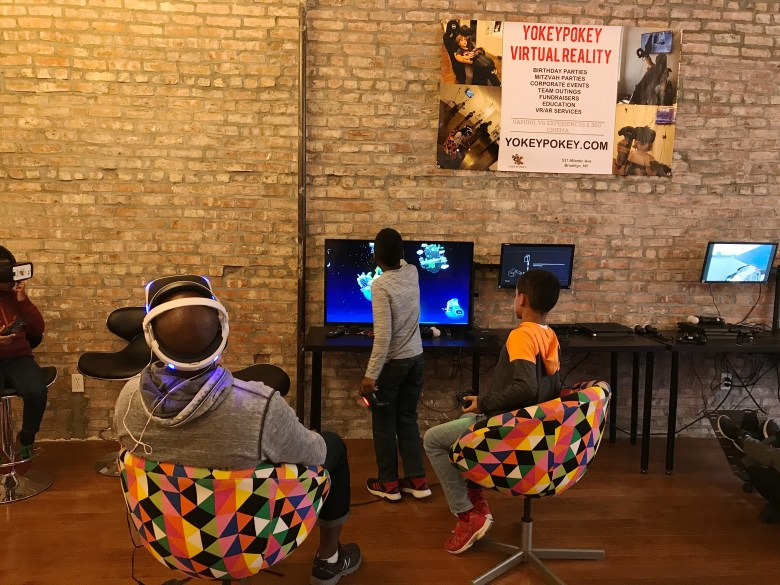 YokeyPokey Virtual Reality club is changing fun and education one simulation at a time.
