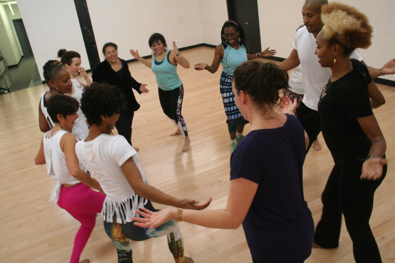 It's about community and the joy that dance can bring, said Cumbe Director Jimena Martinez.