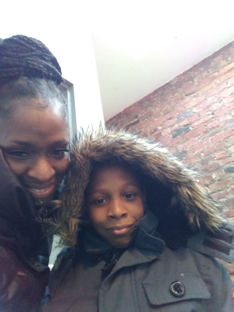 Brittany Graham and her son Kashmire.