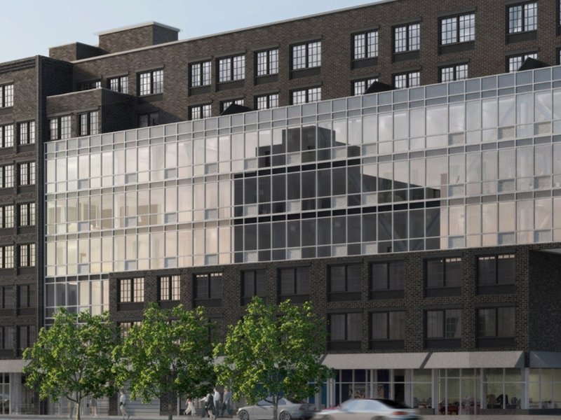 The new MedRite facility will be located at 504 Myrtle Avenue. Renderings: Omnibuild