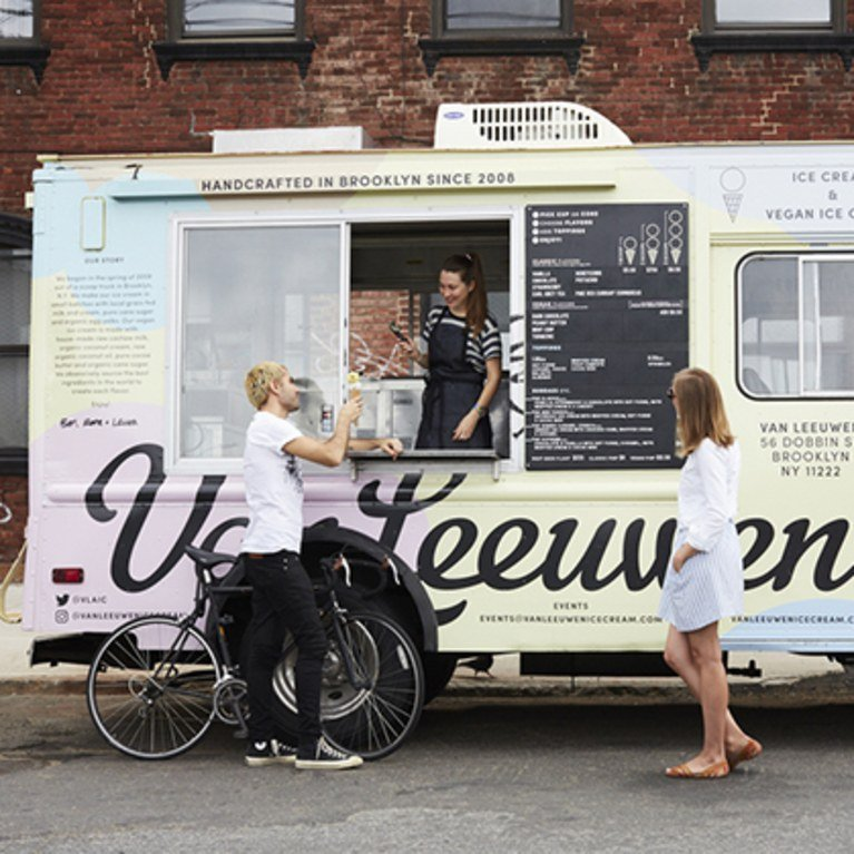 The ice cream company is ready to occupy its new location inside the recently completed 550 Vanderbilt Ave. development