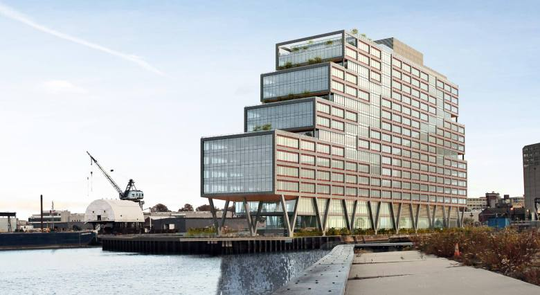 The new ferry stop will be located adjacent to Dock 72 and offer a new commuting option for Navy Yard employees and resident of the surrounding neighborhoods.