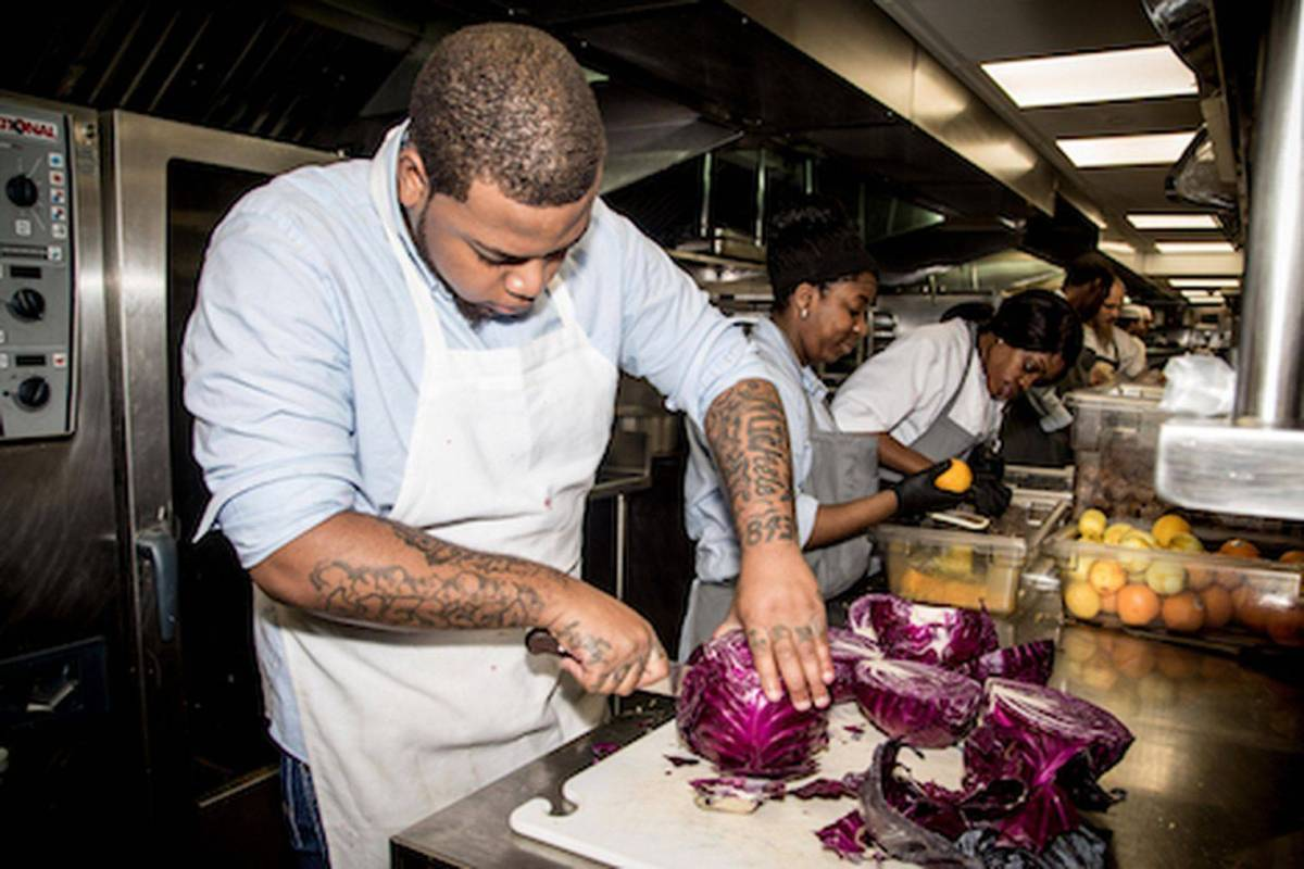 The Brownsville Community Culinary Center is now accepting applications for its paid 40-week training program that includes classroom instruction, hands-on experience within the center's eatery and externships across NYC.