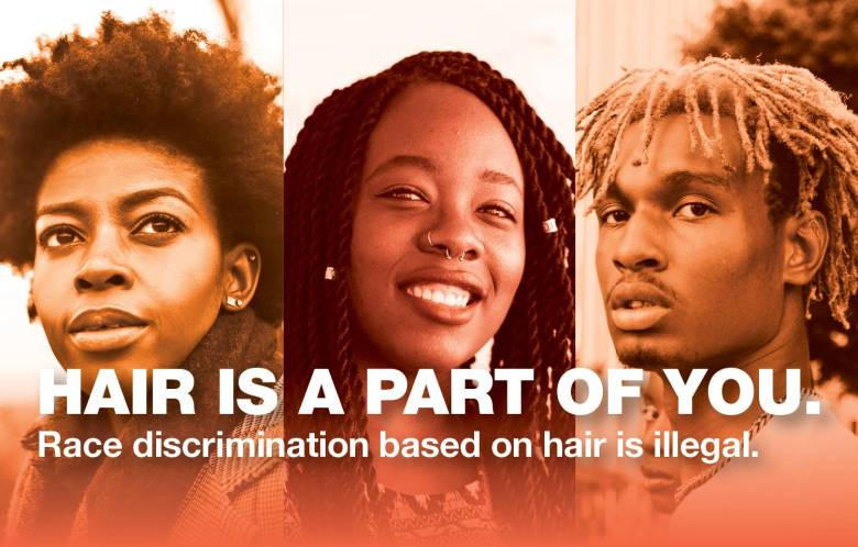The new law protects the right of all New Yorkers to maintain their natural hair however they choose without fear of stigma or retaliation at work, schools or in public places.