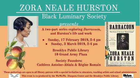 The two-part series will explore Neale Hurston's legacy through literature, art, personal histories and folk tradition using multi-media technology and social media platforms