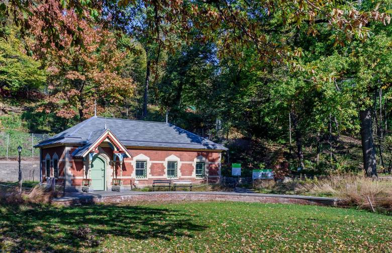 Prospect Park Wellhouse receives Lucy G. Moses Preservation Award from The New York Landmarks Conservancy.