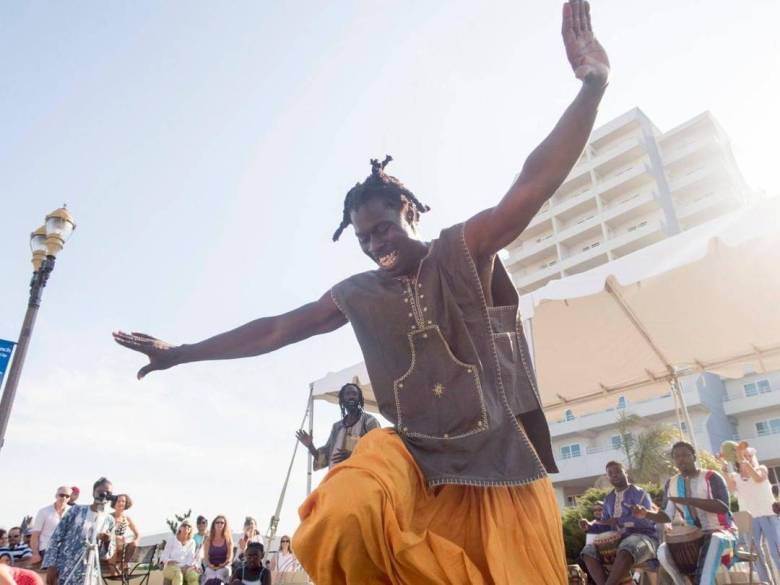 In honor of Senegal's independence, Cumbe is hosting a series of special classes taught by Senegalese master dancers