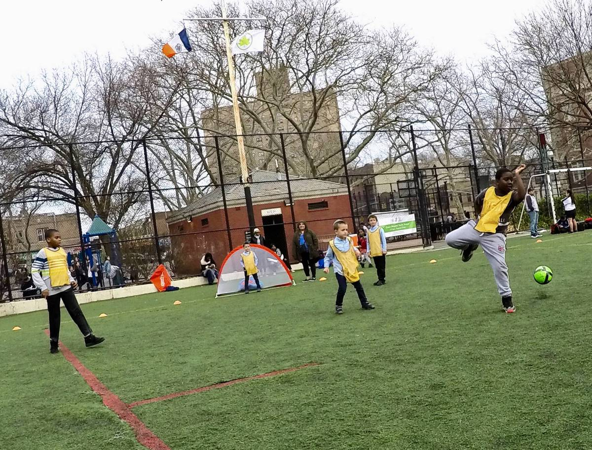 Two Brooklyn nonprofits faced off in a soccer match in Crown Heights, and they had one goal: celebrating the borough's beautiful diversity.