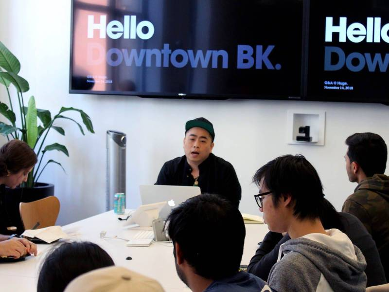 College students got to meet Brooklyn tech, engineering and design companies during Downtown Brooklyn's Talent Connect Week