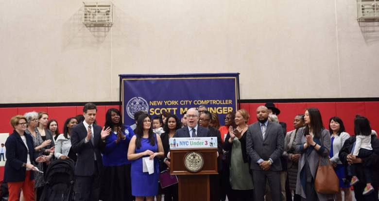 A new report reveals: Only 6 percent of NYC kids have access to affordable early child care; in areas like Bushwick, it's even less.