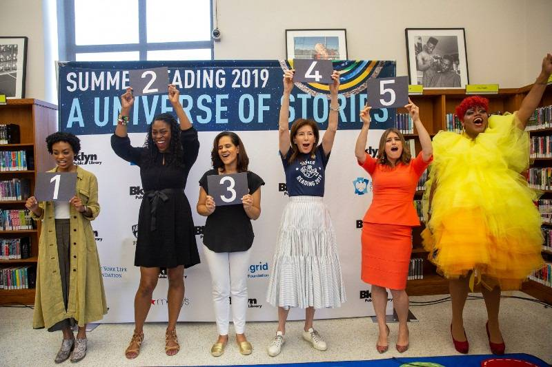 """The Summer Reading Program aims to combat """"Summer Slide,"""" a phenomenon that affects children who stop reading over the summer, with the help of curated booklists and events to keep kids engaged in reading."""