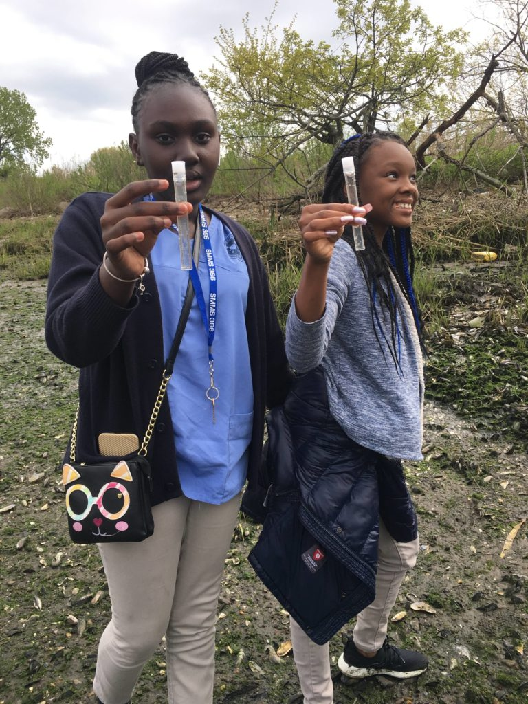 The Green Girls after-school program empowers East New York girls to become environmental stewards through STEM education