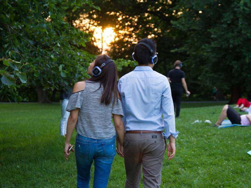 Hikers will be guided through a meditation in motion with music and mindful commentary from Brooklyn artist Murray Hidary