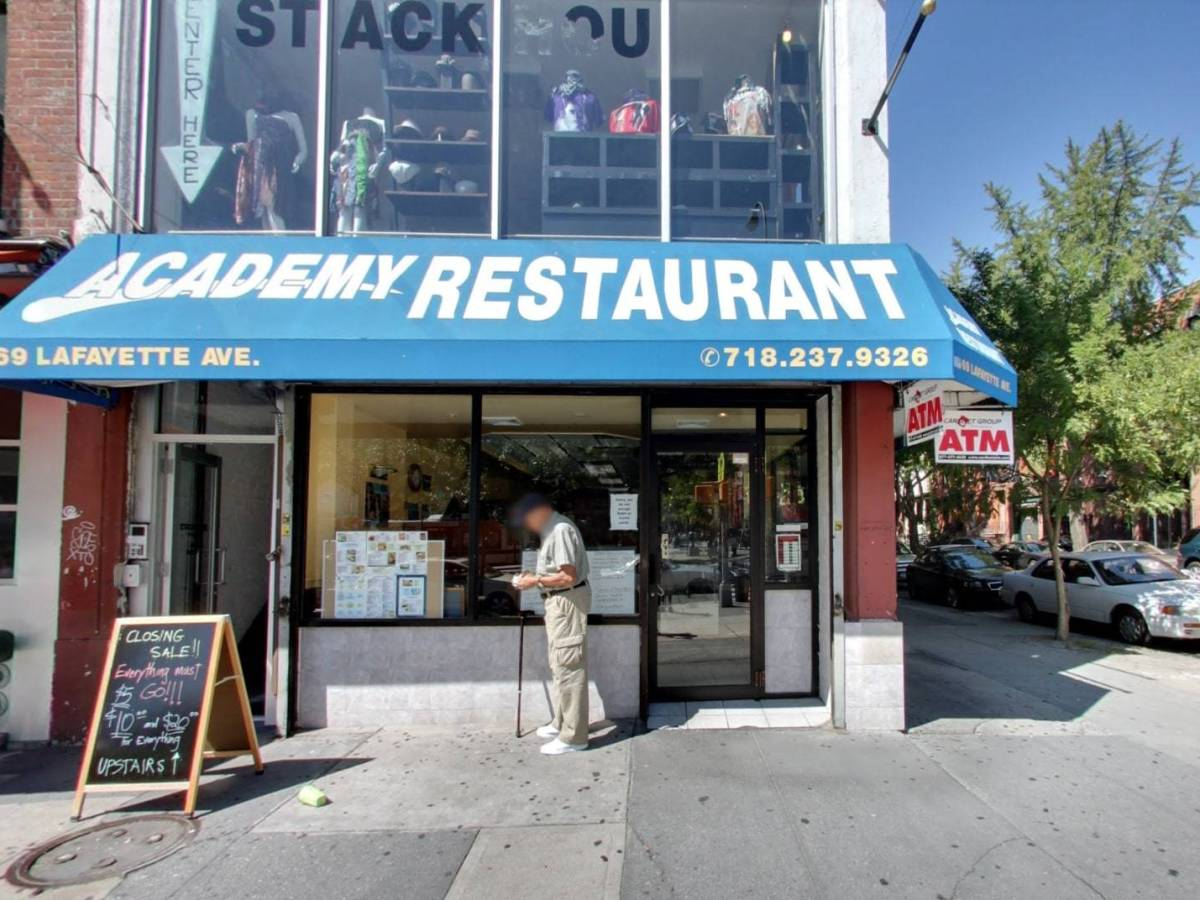Locals will miss the neighborhood spot for its affordable, all-day breakfast menu and welcoming service that Academy Diner provided.