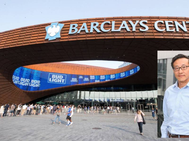 The co-founder of Chinese e-commerce giant Alibaba Joseph Tsai plans to buy the Barclays Center from the venue's current owner Mikhail Prokhorov.
