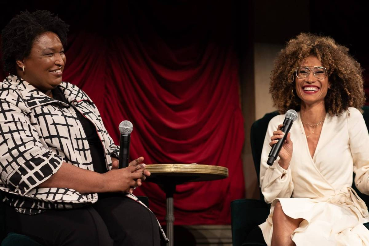 Stacey Abrams, Elaine Welteroth, Brooklyn Community Foundation, Invest in Brooklyn, fundraiser,