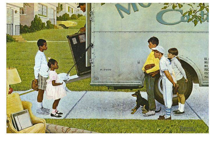 The Art of Seeing, good neighbors, asking for help