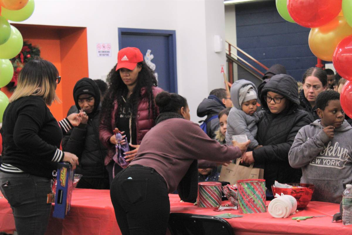 Michelle Yanche, Good Shepherd Services, Prince Joshua Avitto Community Center, toy giveaway, East New York