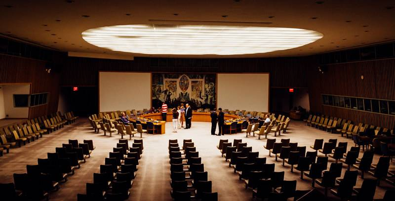 The New York City Council remains empty as hearings and stated meetings are now all held online. Photo Credit: FLICKR