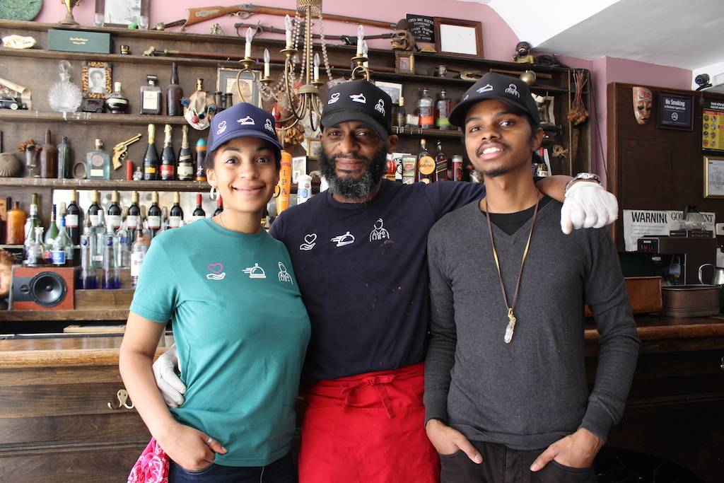 The team at Brooklyn Moon, Camille Felicity Thompson, Michael Thompson and Marc Gonzales. Photo: Anna Bradley-Smith