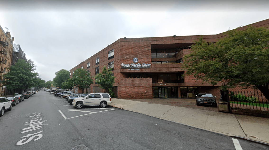 Crown Heights Center for Nursing and Rehabilitation. Photo: Google Maps.
