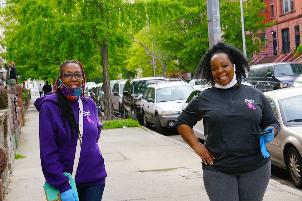 Rebecca Fishburne and Samora Coles of The Alex House Project. Photo by Russell Frederick.