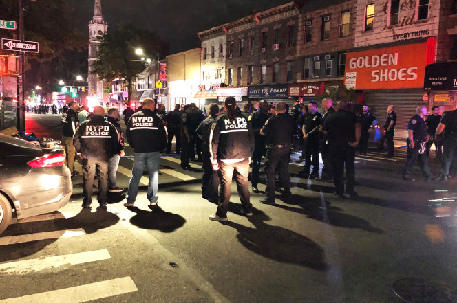 911 audio captures chaotic moments after NYPD cop stabbing in Brooklyn