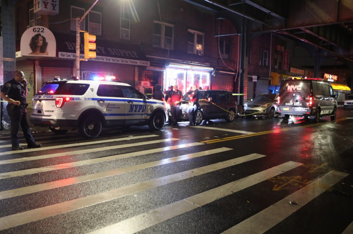 Man fatally shot in head; another injured at East New York apartment Friday night