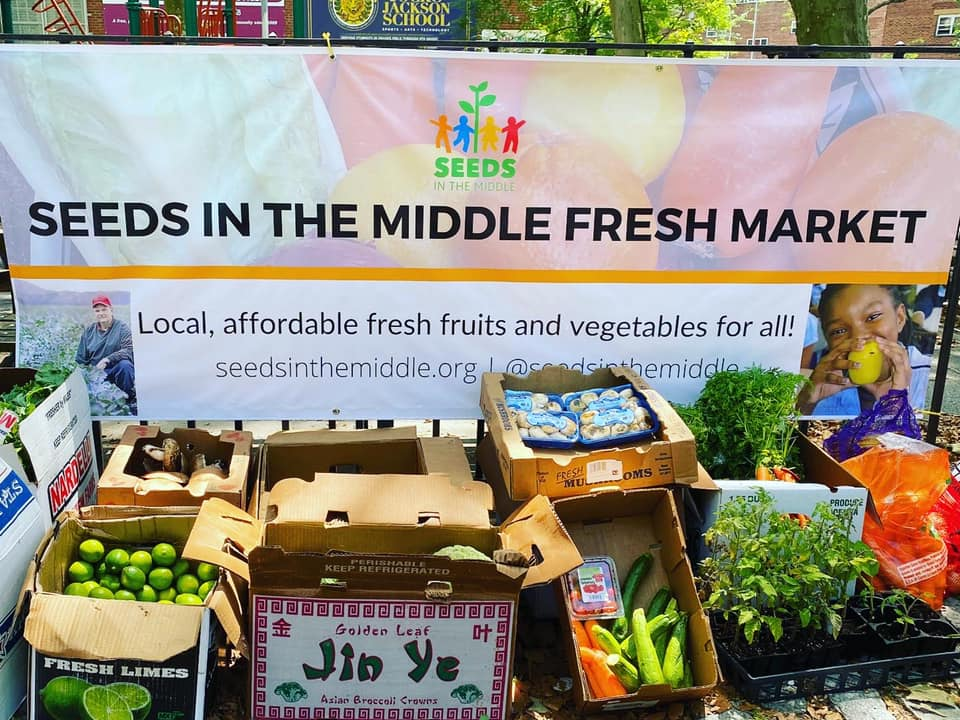 Seeds in the Middle Brings Fresh Produce Programs to Food Insecure Areas of Brooklyn