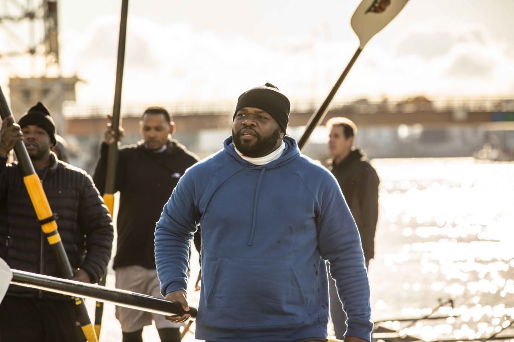 Brooklyn author's historic rowing team reunites for documentary film