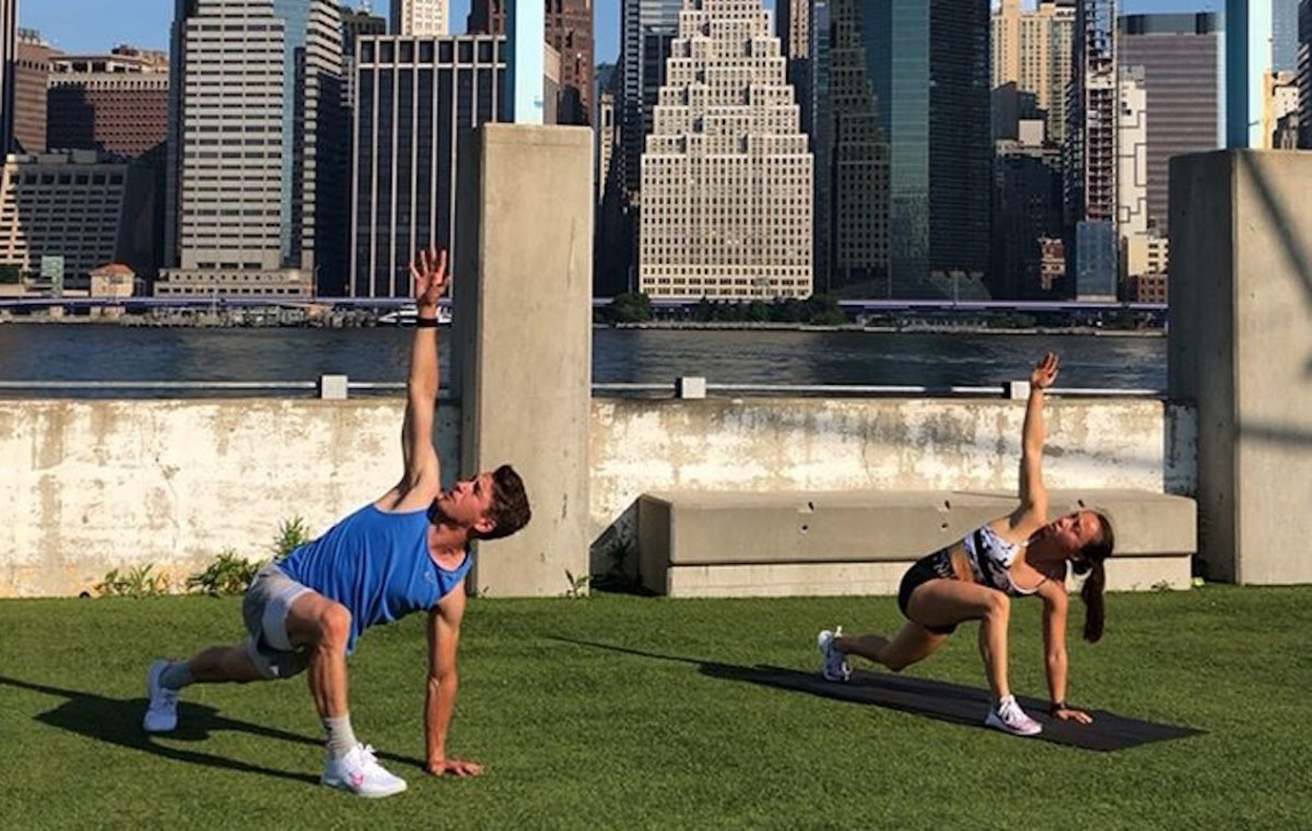 Brooklyn Residents Adapt To A City Without Gyms
