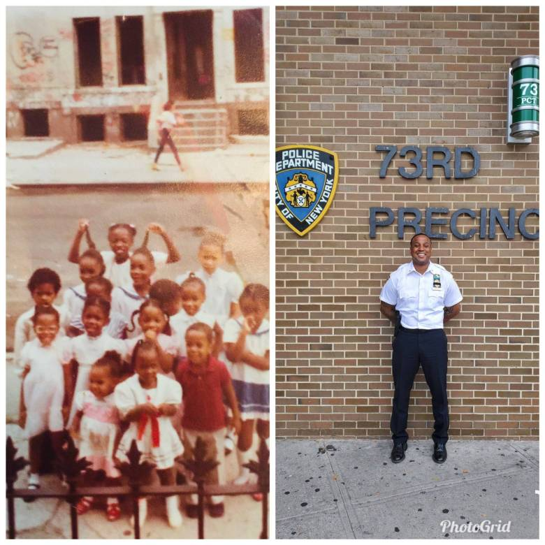 NYPD Deputy Inspector Terrell Anderson. Photo: Courtesy of the 73rd Precinct via Twitter.