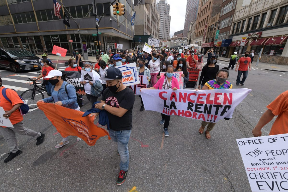 Eviction ban in New York to be extended for rest of 2020, but rent crisis still unresolved