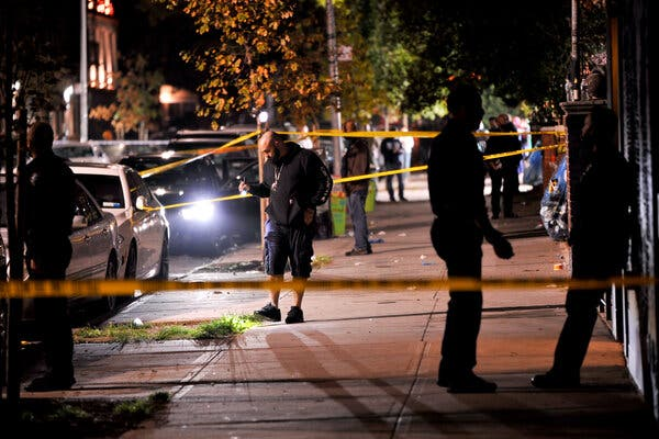 6 Are Shot in Brooklyn as N.Y.C.'s Summer of Violence Spills Into Fall