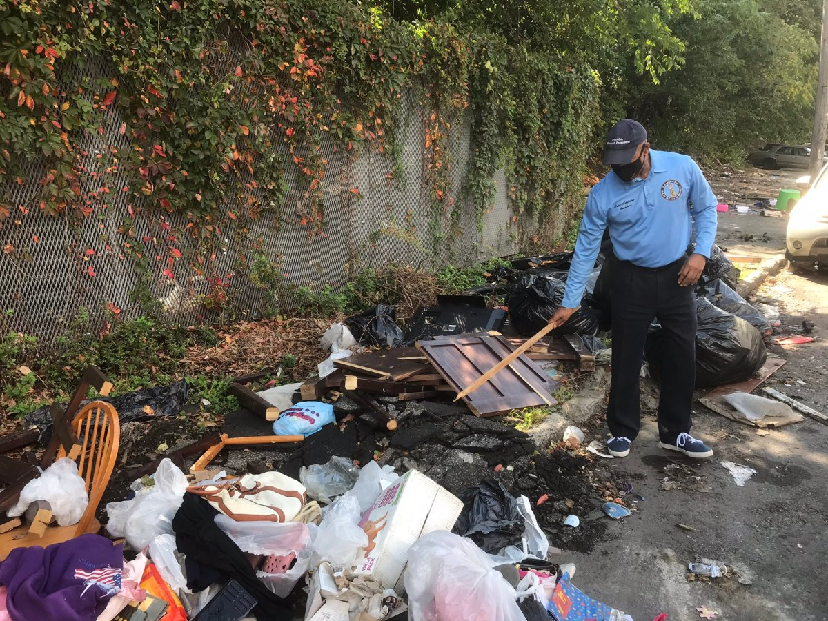 Illegal Dumping On Farragut Road In East Flatbush Is Out Of Control