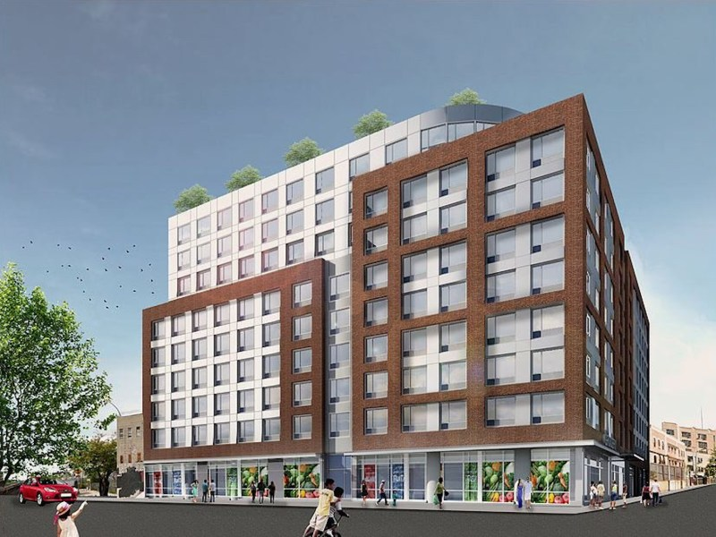 14-Story Affordable Housing Project Breaks Ground at 1921 Atlantic Avenue in Bed-Stuy, Brooklyn