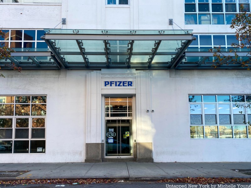 Pfizer's 170+ Year History in New York City