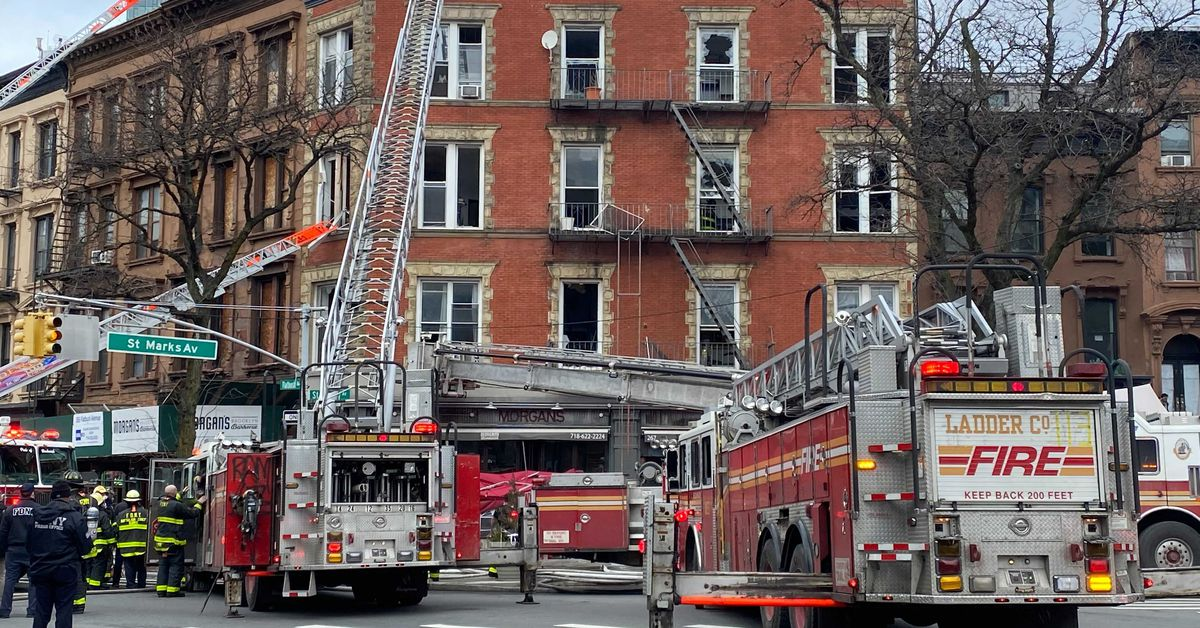 Fire Breaks Out at Morgan's Barbecue in Prospect Heights, Leaving Building Gutted
