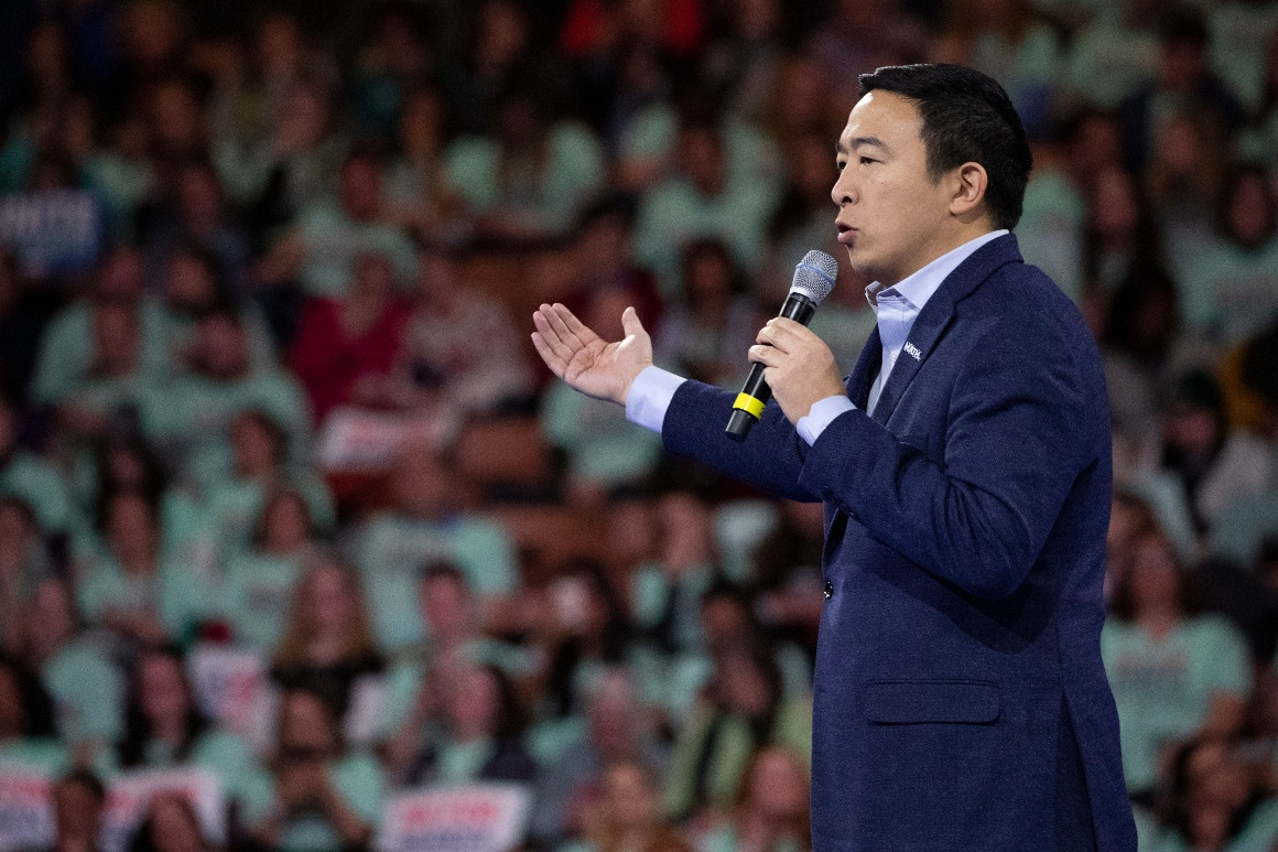 Yang to officially launch NYC mayoral campaign Thursday