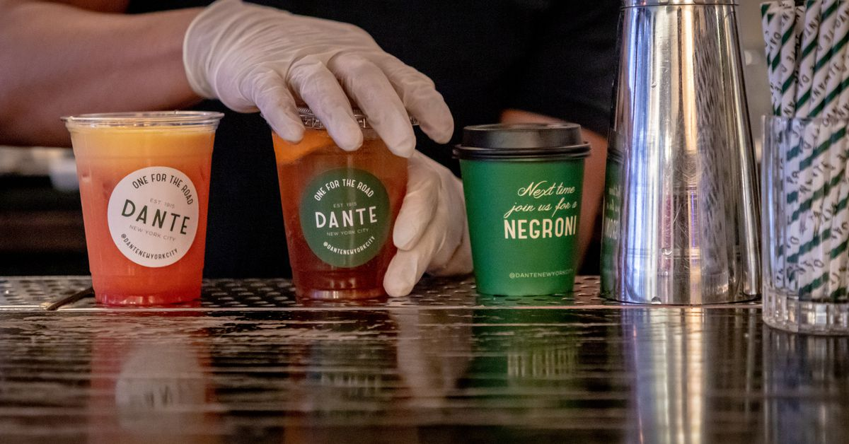 One Year Into the Pandemic, a Renewed Call for Making Takeout Cocktails Permanent