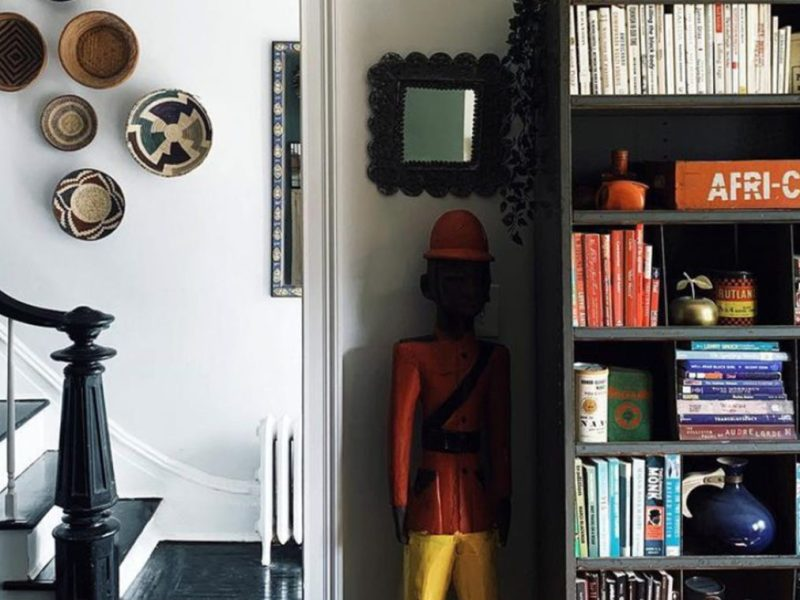 BLK MKT Vintage Owners Create Home with Cultural Gems