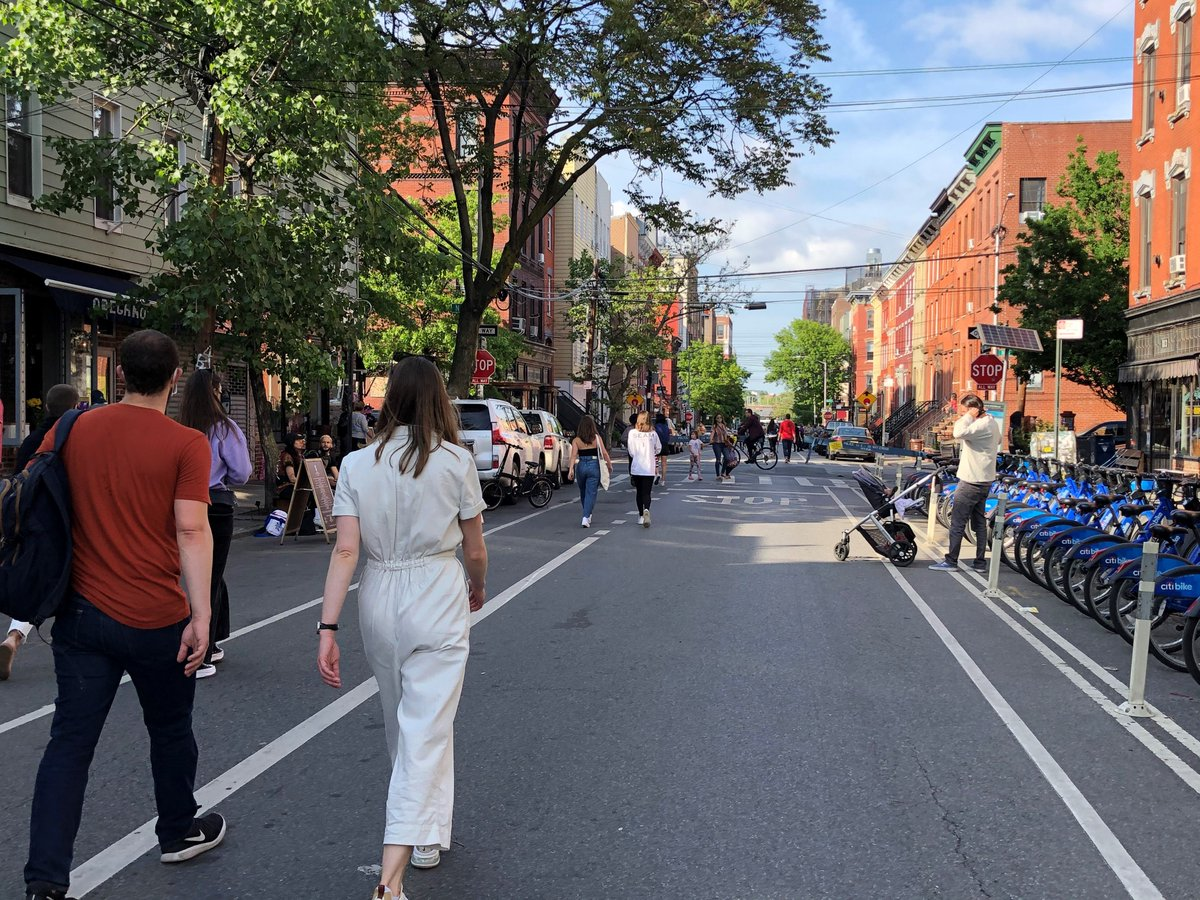 Brooklyn's Open Streets Expose Tensions In Gentrifying Neighborhoods