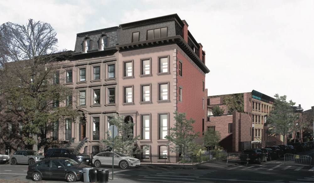 LPC Again Reviews Proposals to Renovate 19th-Century Rowhouse at 176 Washington Park in Fort Greene, Brooklyn