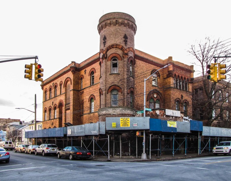 Original NYPD 75th Precinct House in East New York