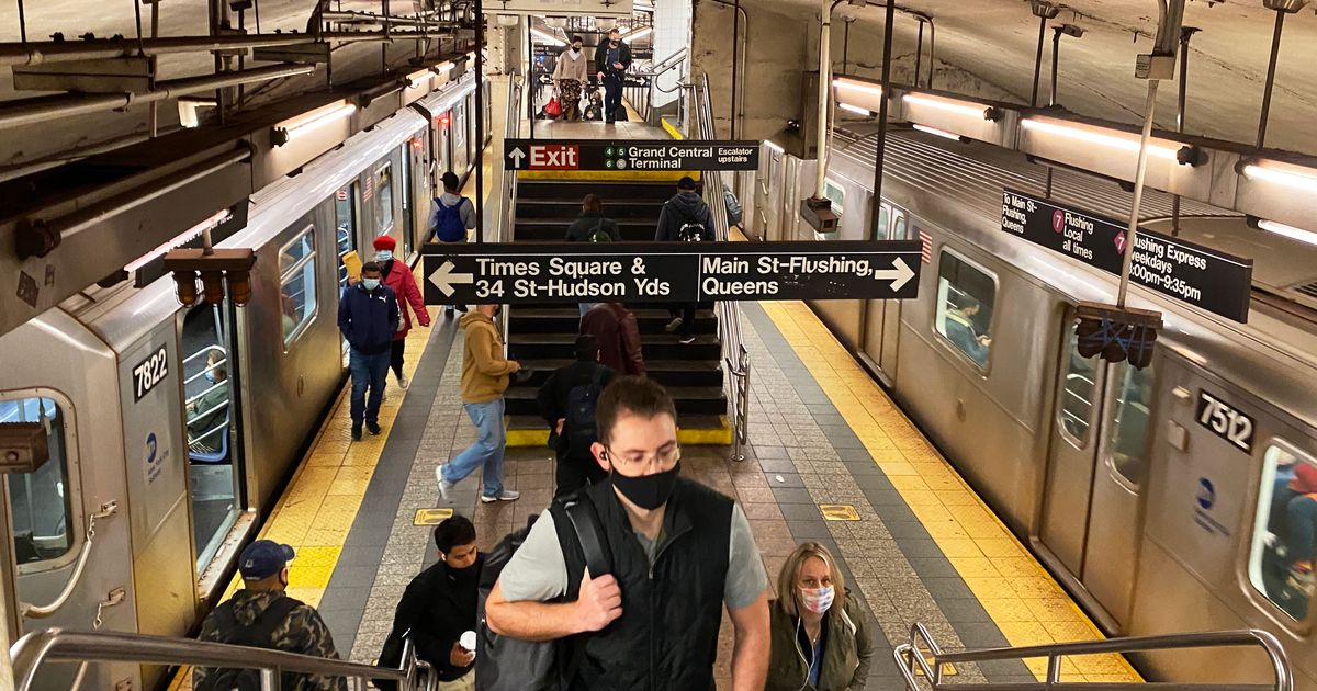 New York City to Offer Vaccine Shots in Subway Stations