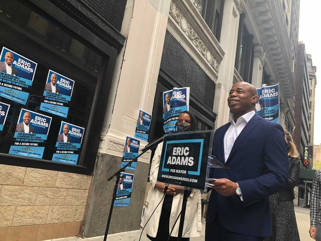 Eric Adams Struggles to Energize Younger Voters. Can He Make It to City Hall Without Them?