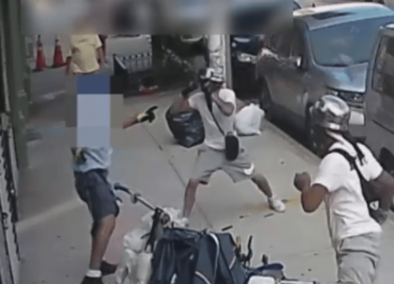 Caught On Video: Postal Worker Badly Beaten By Men On Dirt Bikes While On The Job In Brooklyn